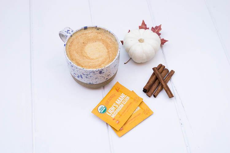 Pumpkin smoothie image